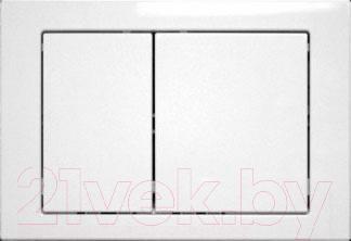 Кнопка для инсталляции Cersanit Link K97-086 (белый) - общий вид
