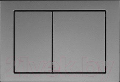 Кнопка для инсталляции Cersanit Link (хром матовый) - общий вид