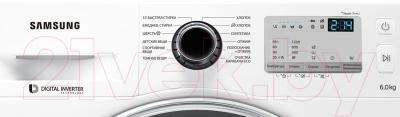 Стиральная машина Samsung WW60J4243HWDLP