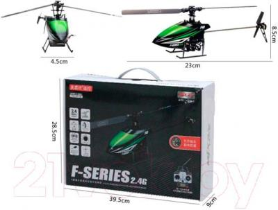 Радиоуправляемая игрушка MJX Вертолет F648(F48) - размеры вертолета и упаковки