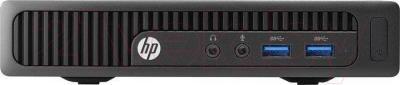 Системный блок HP 260 G1 DM Business PC (K8L21EA) - фронтальный вид