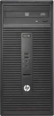 Системный блок HP 280 G1 MT (K8K51ES) - фронтальный вид