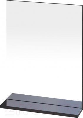 Зеркало для ванной Cersanit Galaxy 50 S572-011 (черный) - общий вид