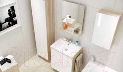 Зеркало для ванной Cersanit Smart 50 P-LS-SMA-sm (с выдвижным механизмом) - в интерьере 1