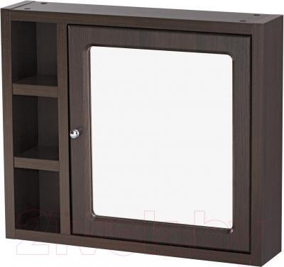 Шкаф с зеркалом для ванной Cersanit Mocca 71 S544-001 (венге) - общий вид