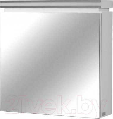 Шкаф с зеркалом для ванной Cersanit Olivia 56 S543-011 (белый) - общий вид