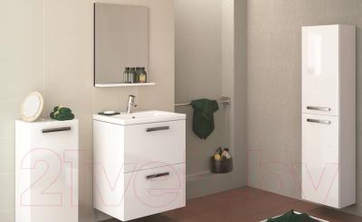 Шкаф-полупенал для ванной Cersanit Melar 35 S614-004 (белый) - в интерьере 3