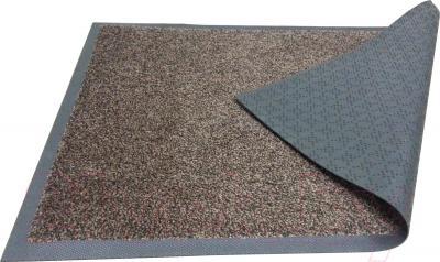 Грязезащитный коврик Kleen-Tex Entrance 60x85 (черно-коричневый) - общий вид