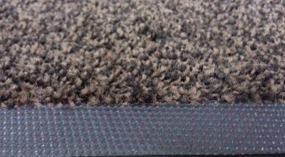 Грязезащитный коврик Kleen-Tex Entrance 60x85 (черно-коричневый) - бортик