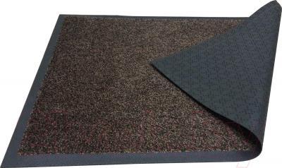 Грязезащитный коврик Kleen-Tex Entrance 85x120 (черно-коричневый) - общий вид