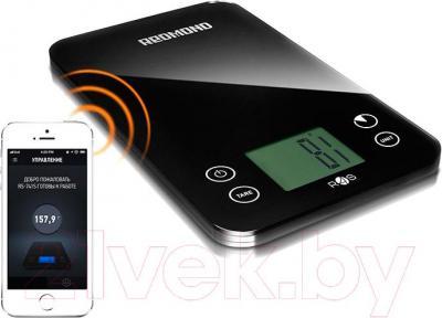 Кухонные весы Redmond RS-741S - связь со смартфоном