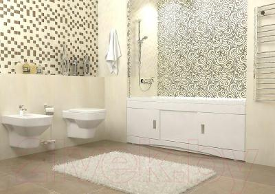 Экран для ванны Ванланд Валентина В-1600 - в интерьере