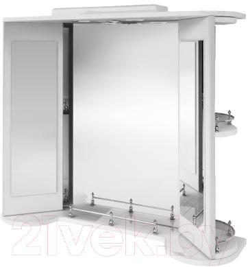 Зеркало для ванной Ванланд Жемчуг Жз 3-80  - общий вид