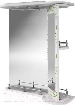 Зеркало для ванной Ванланд Эвкалипт Эз 3-60 (правое) - общий вид