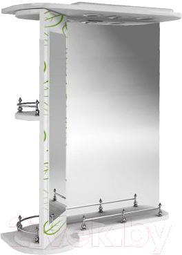 Зеркало для ванной Ванланд Эвкалипт Эз 3-60 (левый) - общий вид