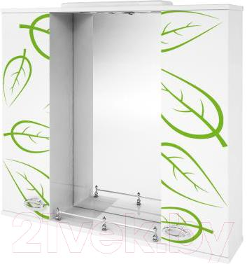 Зеркало для ванной Ванланд Эвкалипт Эз 1-80 - общий вид