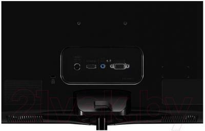 Монитор LG 22MP67HQ-P - вид сзади