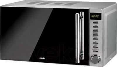 Микроволновая печь BBK 20MWG-721T/BS-M (черно-серебристый) - общий вид