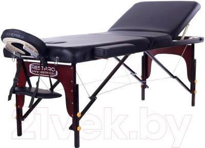 Массажный стол Restpro Vip 3 (черный) - общий вид