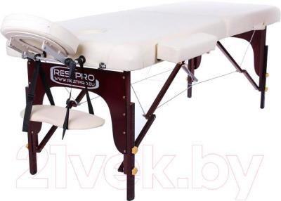 Массажный стол Restpro Vip 2 (кремовый) - общий вид
