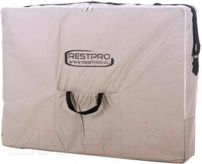 Массажный стол Restpro Vip 2 (кремовый) - в сумке для транспортировки