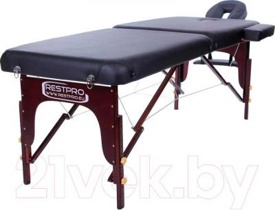 Массажный стол Restpro Vip 2 (черный) - общий вид