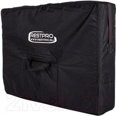 Массажный стол Restpro Vip 2 (черный) - в транспортировочной сумке