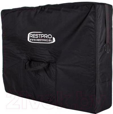 Массажный стол Restpro Alu 2 L (черный) - в сумке для переноски