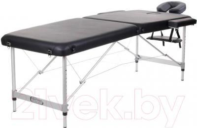 Массажный стол Restpro Alu 2 L (черный) - общий вид