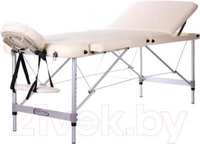 Массажный стол Restpro Alu 3 (кремовый) - общий вид