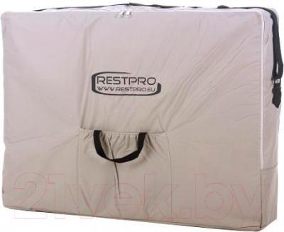 Массажный стол Restpro Alu 3 (кремовый) - в сумке для транспортировки