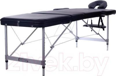 Массажный стол Restpro Alu 3 (черный) - общий вид