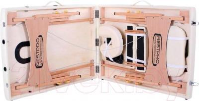 Массажный стол Restpro Classic 2 (кремовый) - в сложенном виде