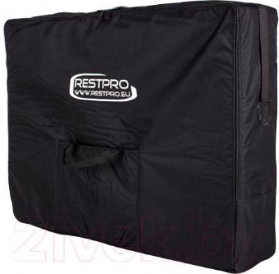 Массажный стол Restpro Classic 2 (черный) - в сумке для транспортировки