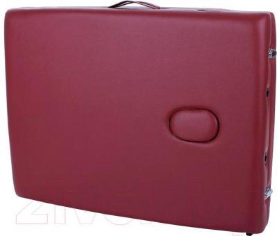 Массажный стол Restpro Classic 2 (красное вино) - в сложенном виде