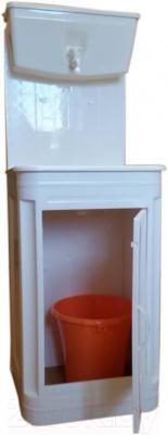 Умывальник для дачи ЭлБЭТ Чистюля УМ-10 (пластик) - общий вид