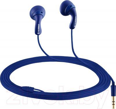 Наушники Cresyn C190E Rubby Dubby (темно-синий) - общий вид
