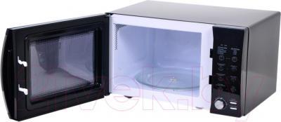 Микроволновая печь Daewoo KOR-8A0R - в открытом виде
