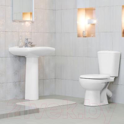 Унитаз напольный Керамин Чезаро Дуал Premium (с жестким сиденьем)