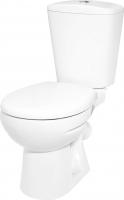 Унитаз напольный Керамин Чезаро Дуал Premium (с жестким сиденьем и микролифтом) -