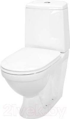 Унитаз напольный Керамин Турин Алкапласт Standard (с мягким сиденьем)