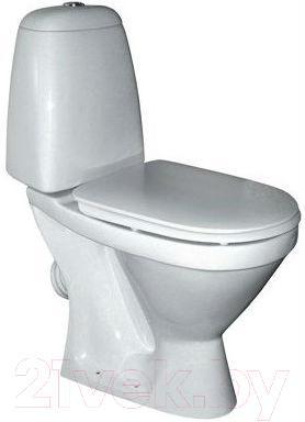 Унитаз напольный Керамин Норд Деко Premium (с жестким сиденьем)