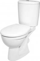 Унитаз напольный Керамин Лидер Алкапласт Premium (с жестким сиденьем) -