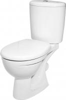 Унитаз напольный Керамин Лидер Дуал Premium (с жестким сиденьем) -