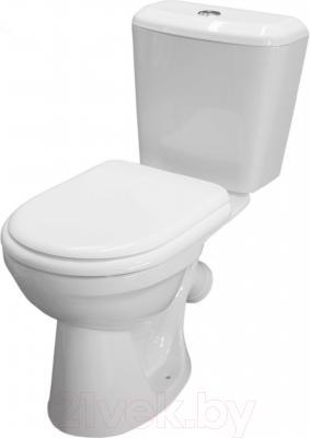 Унитаз напольный Керамин Сити Деко Premium (с мягким сиденьем)