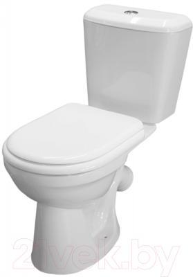Унитаз напольный Керамин Сити Деко Standard (с мягким сиденьем)