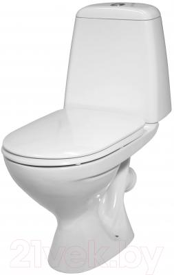 Унитаз напольный Керамин Стиль Деко Premium (с жестким сиденьем)