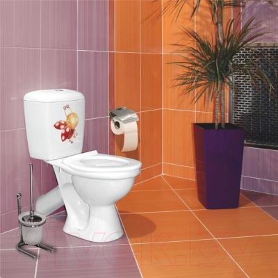 Унитаз напольный Керамин Кидс Деко Premium (с полипропиленовым сиденьем)