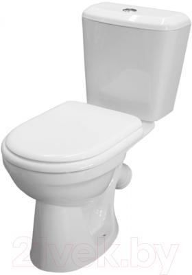 Унитаз напольный Керамин Сити Деко Premium (с цветным сиденьем)
