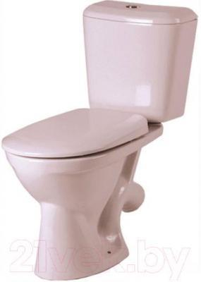 Унитаз напольный Керамин Сити Деко Standard (с цветным сиденьем)
